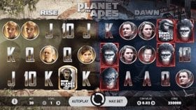 демо игра Planet of the Apes Slot